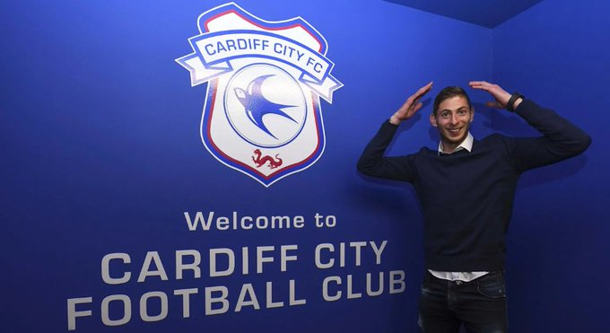 #Cardiff City have signed Emiliano #Sala from FC Nantes. Photo