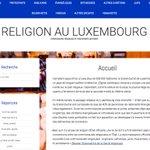 Nouvelle présentation modernisée de https://t.co/K1WfOhrxXn, répertoire des groupes religieux et spirituels du Luxembourg. Les corrections, mises à jour et compléments sont les bienvenus - envoyer les informations par le formulaire de contact du site. #religions #Luxembourg