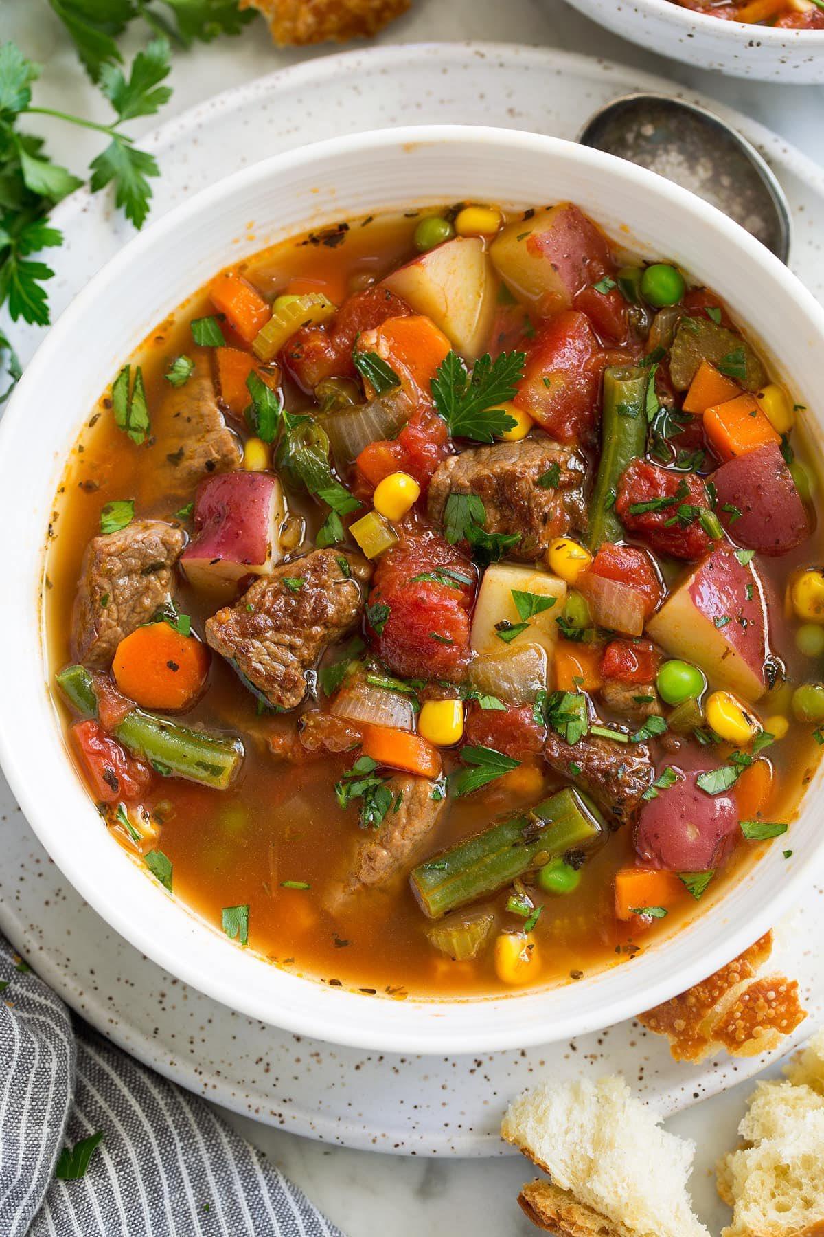 первые блюда из говядины рецепты с фото сейчас