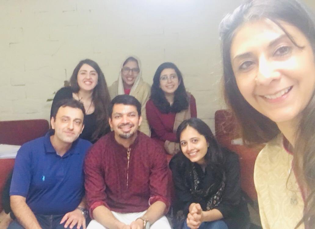 """Today saw the successful completion of our first round of """"The Coaching Programme"""" in Karachi, Pakistan. A huge thank you to @shazniz for setting up the programme and facilitating the workshop, and @rashatarek for all her support. Very excited for what is to come in Karachi! https://t.co/9NFjtStCLM"""