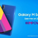 Samsung's direct rival to all cheaper chinese  phones, will finally be announced on 28th Jan, all under ₹12000. Samsung #M10 = ₹7,990 Samsung #M20 = ₹10,990 https://t.co/HbZvj3ddhx