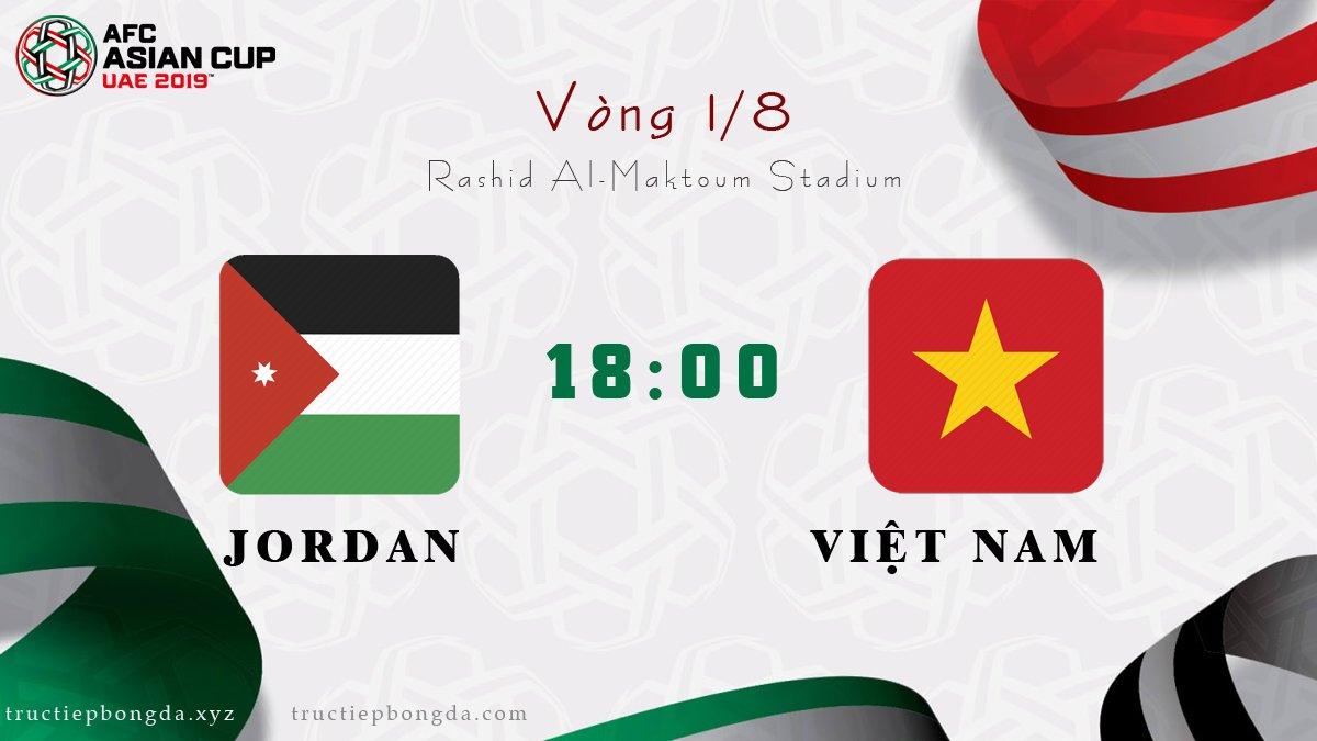 Jordan vs Việt Nam
