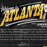 Image for the Tweet beginning: The official!!! Welcome To Atlanta