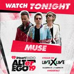 Image for the Tweet beginning: TONIGHT: Watch Muse live from