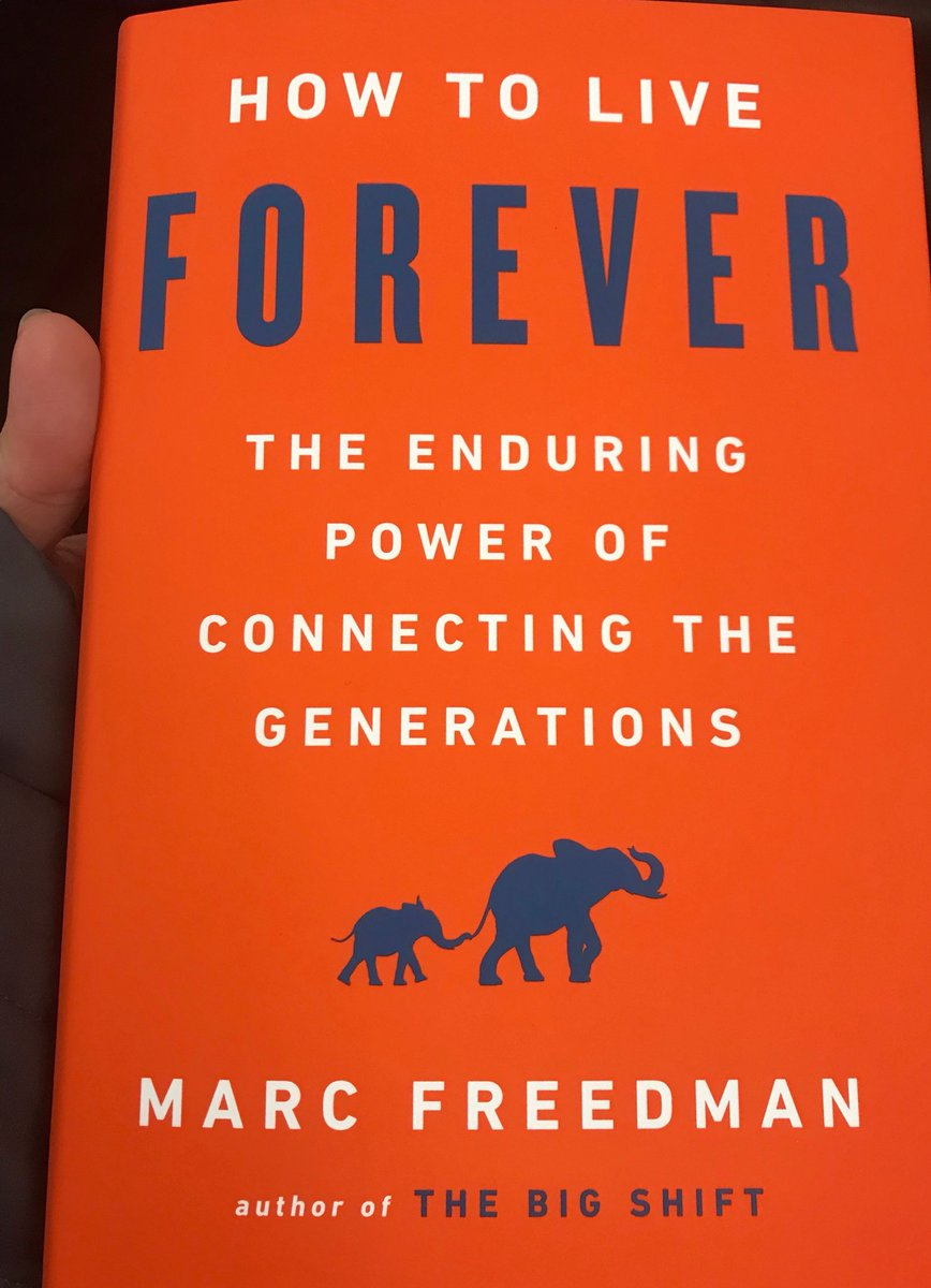 Honored to attend @marc_freedman's book signing and discussion about #HowToLiveForever #a2dc @Aging20