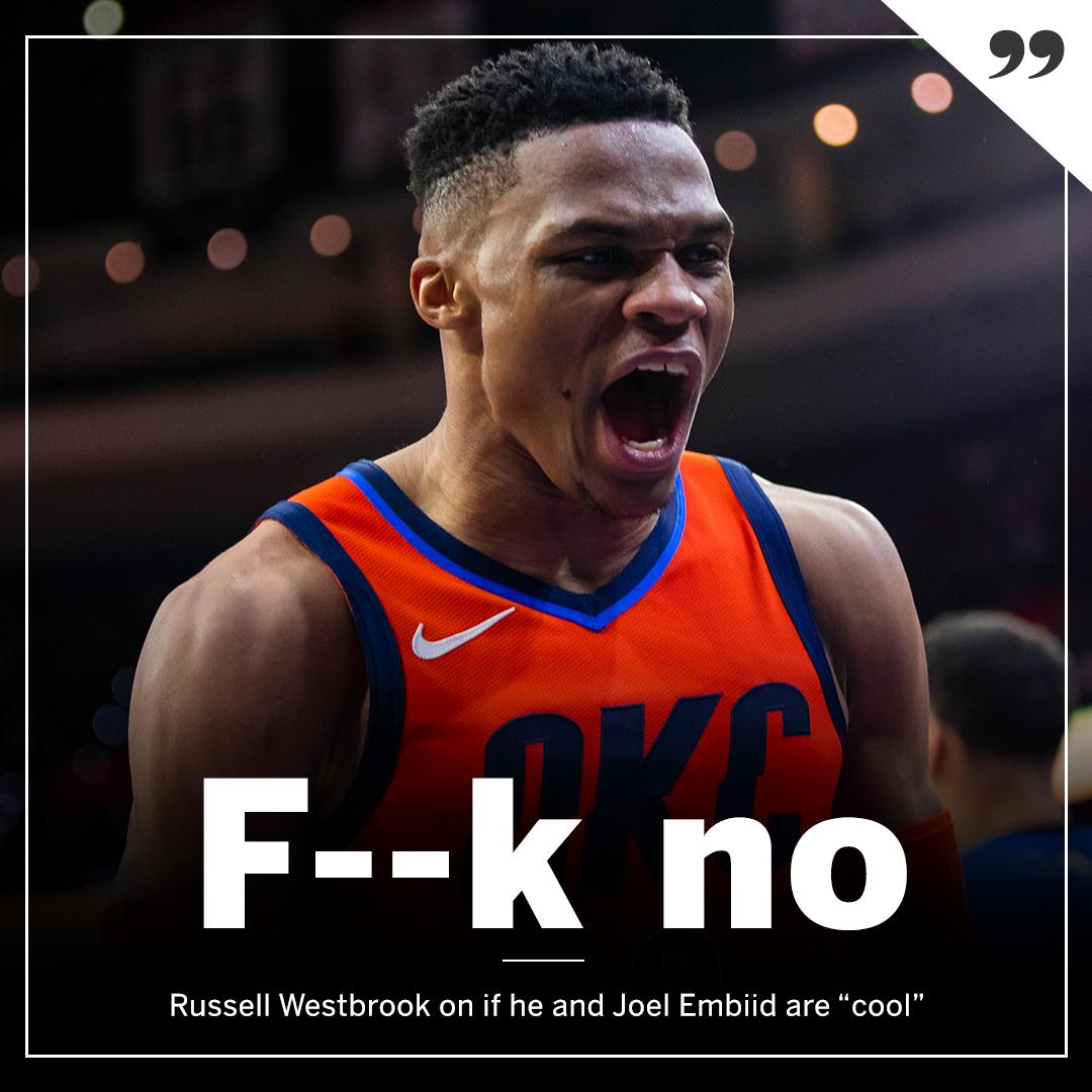 ESPN's photo on westbrook