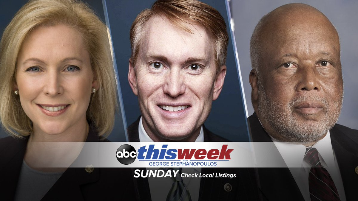 THIS MORNING: @MarthaRaddatz reports from both sides of the southern border on 'This Week'; plus, Dem @SenGillibrand, GOP @SenatorLankford & Dem Rep.  res@BennieGThompsonpond to Pres. Trump's new immigration and border security proposal to end the shutdown https://t.co/DTsdmyWO84