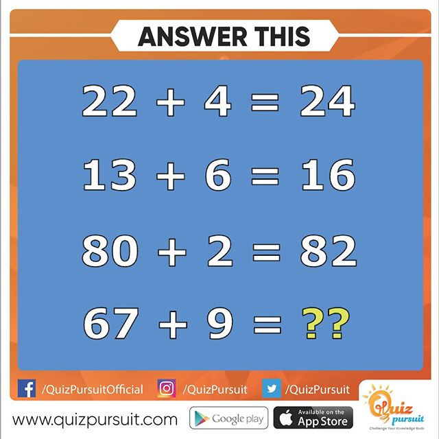 Reposting @quizpursuit: - via @Crowdfire Can you solve this