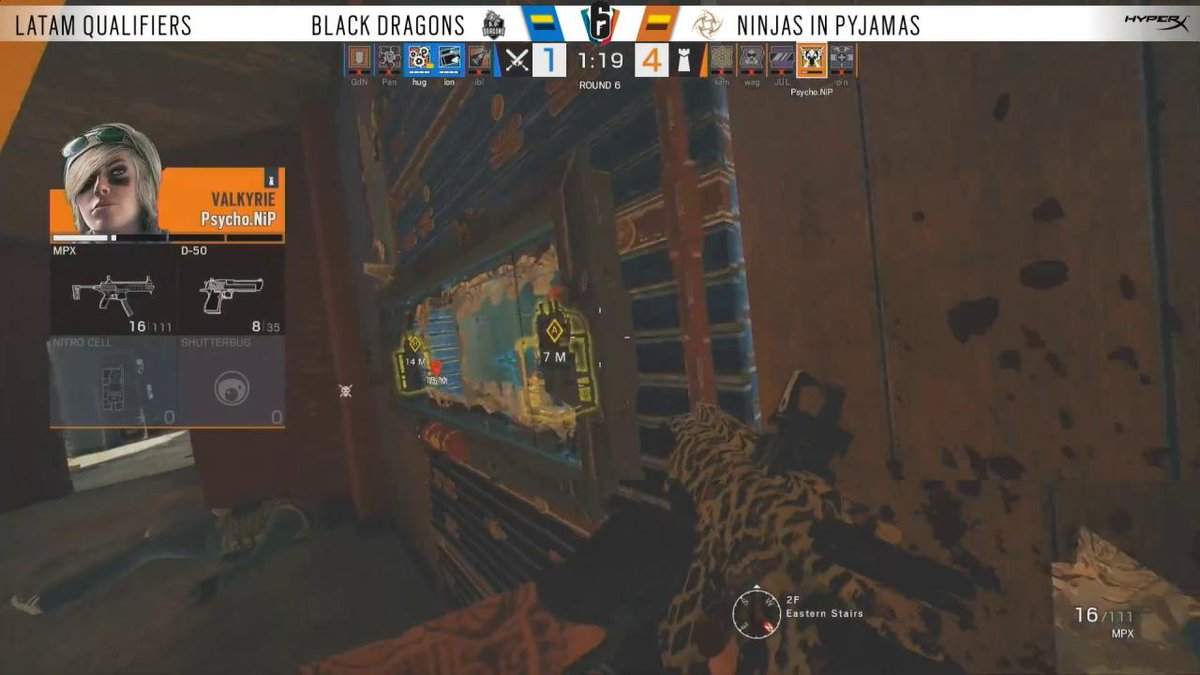 Image for the Tweet beginning: Always count on @PsychoR6! #SixInvitational