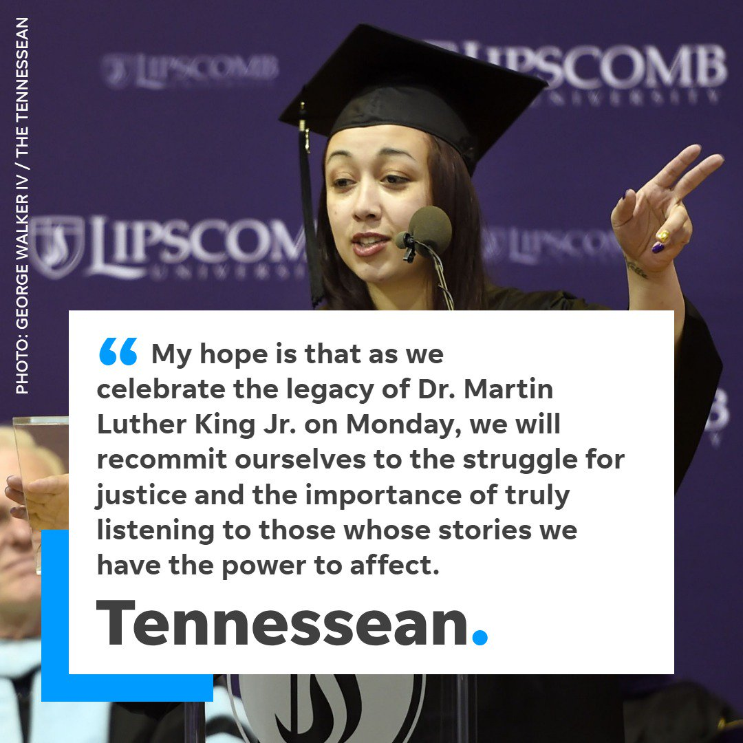 Cyntoia Brown, in this guest column, expresses her gratitude to Gov. Bill Haslam for granting her clemency and urges people to celebrate MLK's legacy. https://t.co/721FKdyf0y