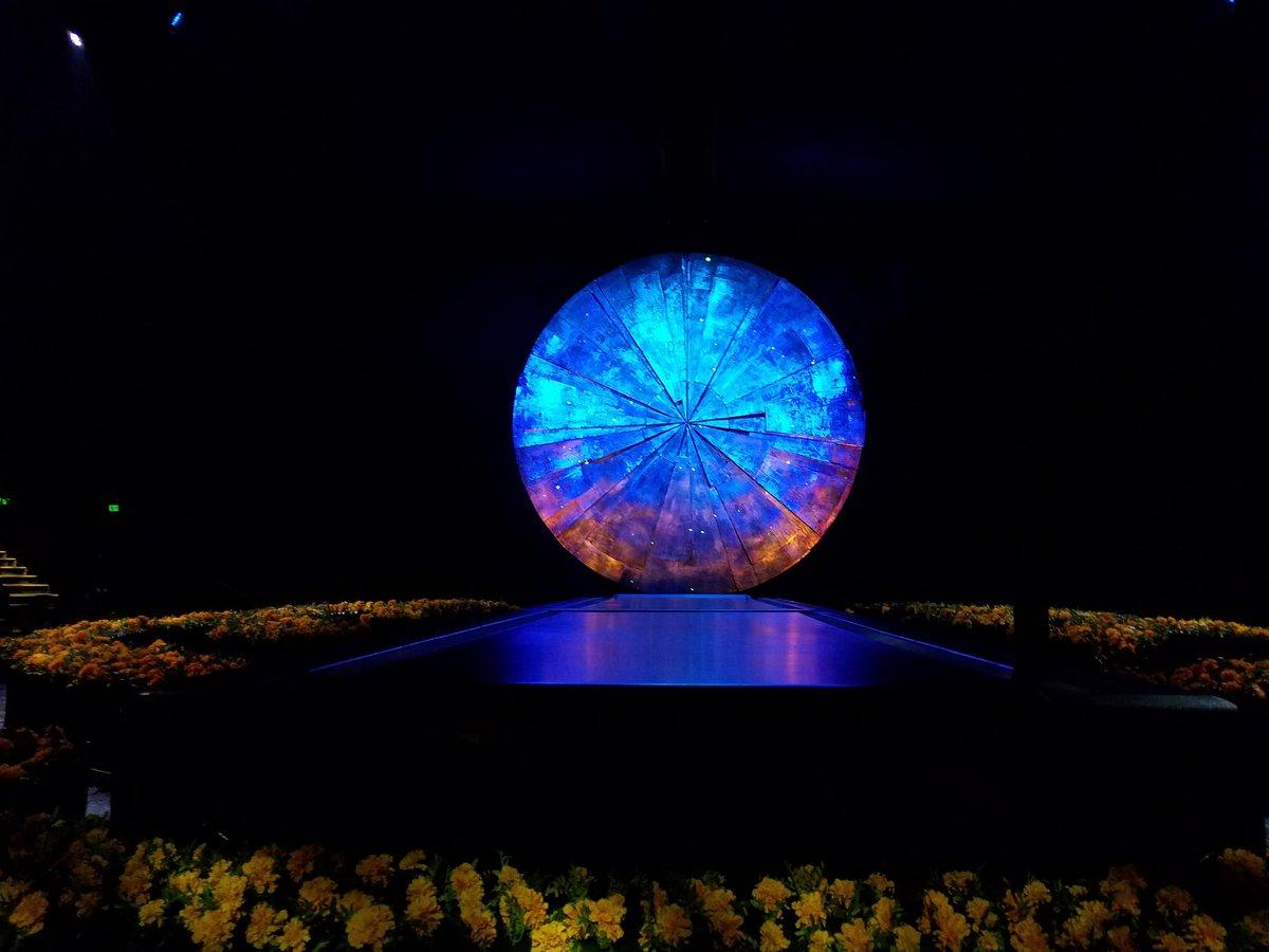 Time to enjoy @Cirque's #Luzia. https://t.co/CGcQeCFqAp