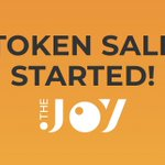 Image for the Tweet beginning: Our token sale started! Get