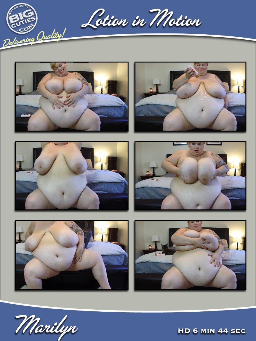 Marilyn big cutie Bbw marilyn