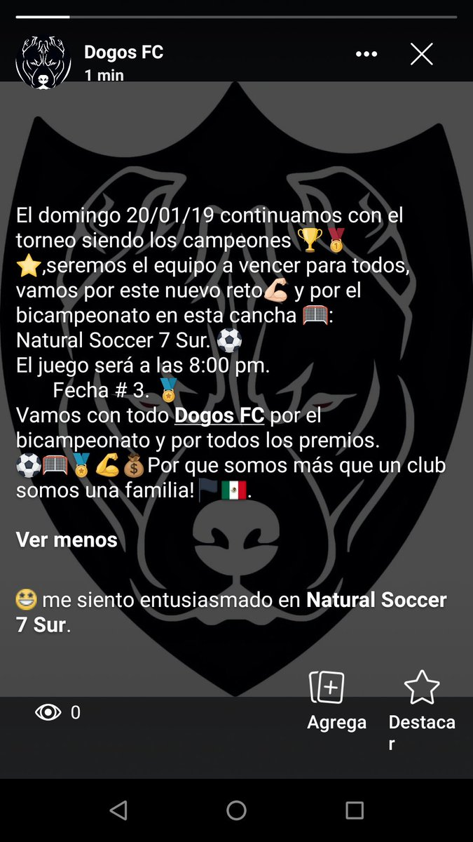Dogos FC.'s photo on Bicampeonato
