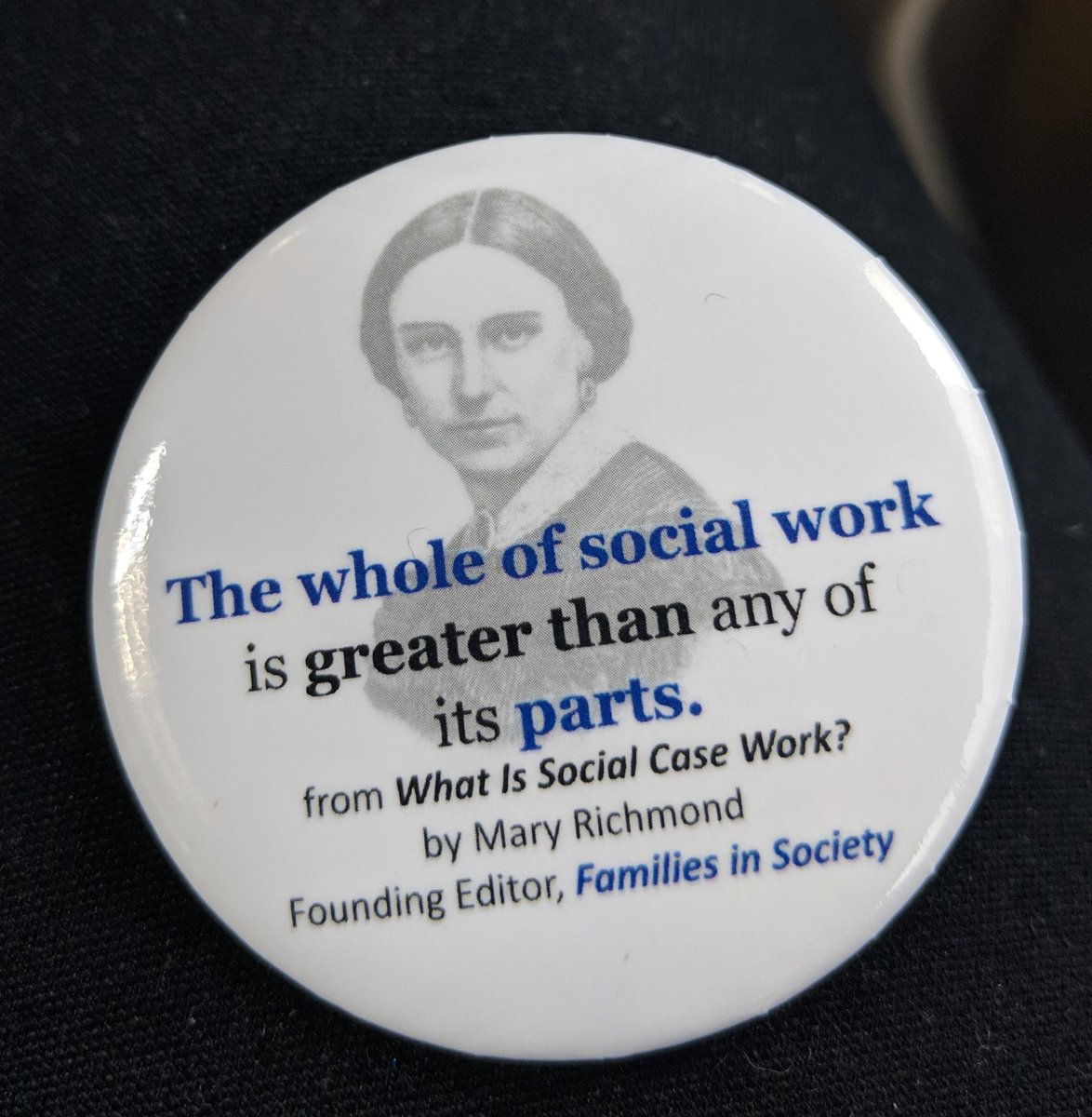 Love this button #SSWR2019 #SocialWork