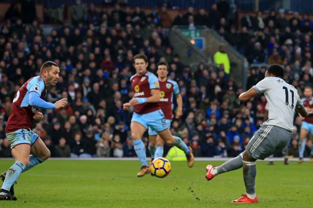 [2018] #onthisday last year, Anthony Martial scored the only goal of the game as Manchester United beat Burnley 1-0 at Turf Moor. #mufc #bfc