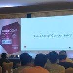 #RubyConfIndia Twitter Photo
