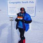 South Pole Twitter Photo