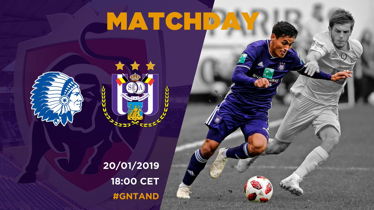 Matchday! ⚽ Like & retweet to support your team! 💜 Come on you Mauves! 💪 #GNTAND #RSCA #COYM https://t.co/rNIMT9iDei