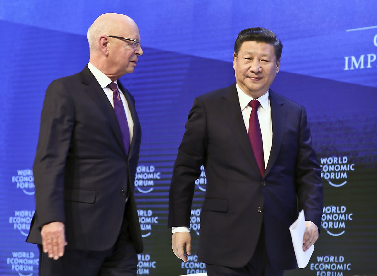 """In Davos, @wef founder Klaus Schwab has seen historical transformation from """"China listening to the world"""" to """"China's voice heard by the world."""" Read Spotlight: China's four decades at WEF http://xhne.ws/kH5mN"""