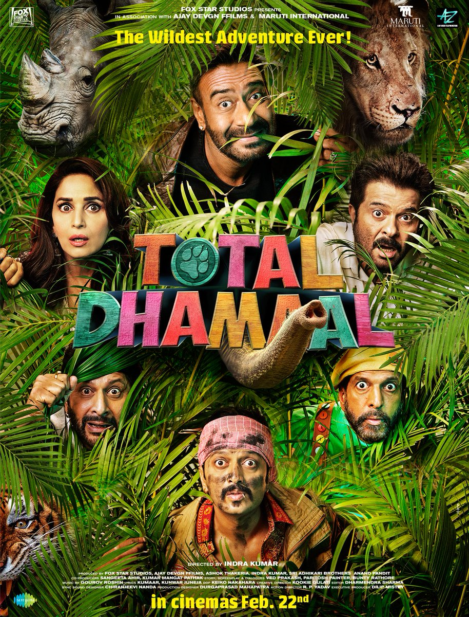 Join Our Wild Adventure! Total Dhamaal Trailer Out Tomorrow.