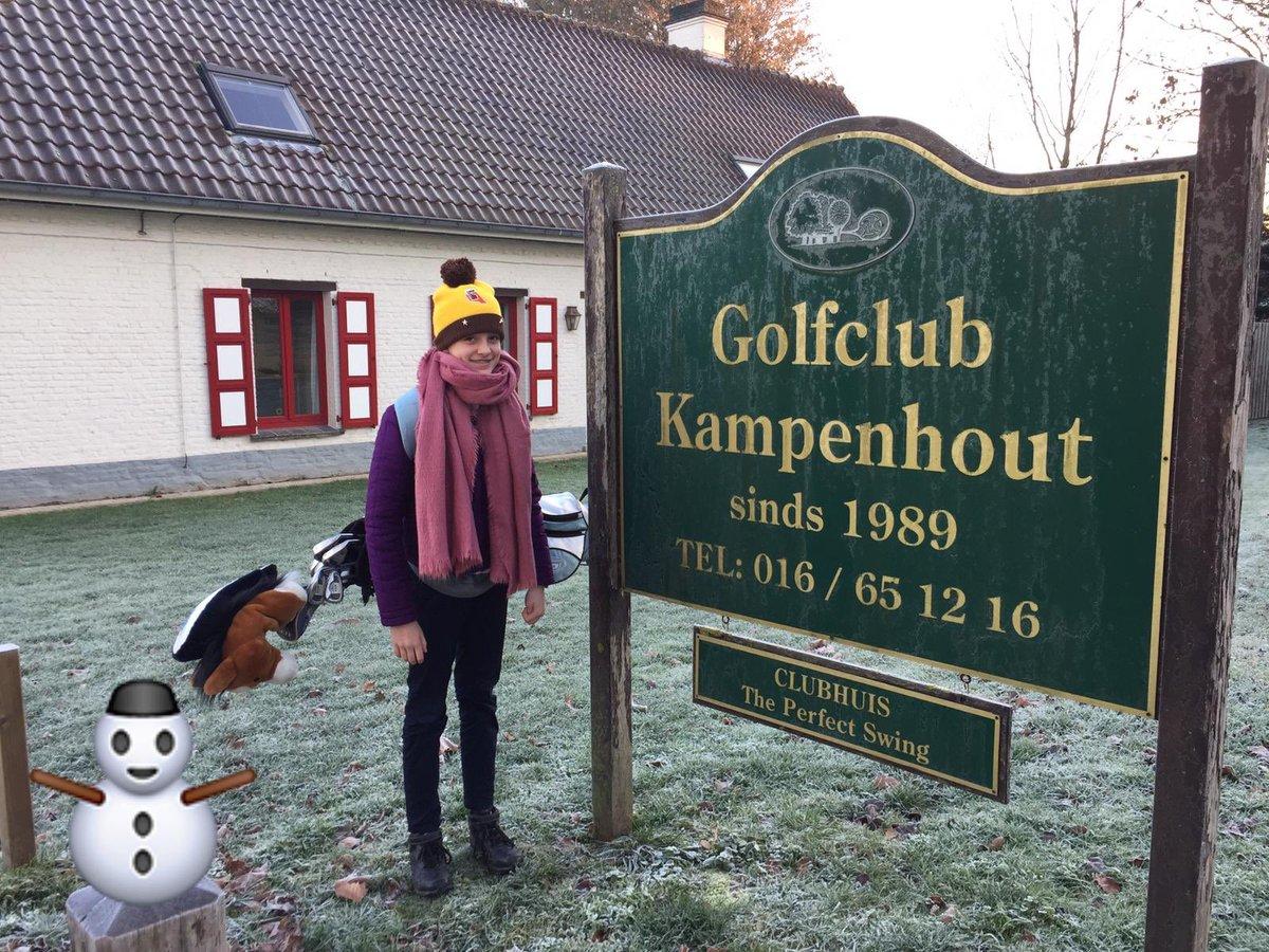 Nice weather for some practice today. ⛳️🏌️♀️Let's warm up first! ☕️☕️#golfvlaanderen #jeugdtraining #golfisfun https://t.co/EoMxzaRw2x