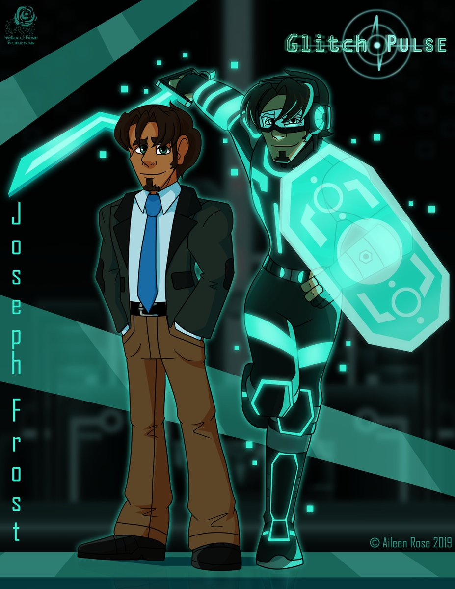 Joseph Frost.  Programmer and computer tech in our world.  Leader and cyber warrior in another world.  Check out #GlitchPulse on Tapas or Webtoon!  Tapas: https://tapas.io/series/Glitch-Pulse …  Webtoon: https://www.webtoons.com/en/challenge/glitch-pulse/list?title_no=135293 …  Patreon: https://www.patreon.com/AileenRose
