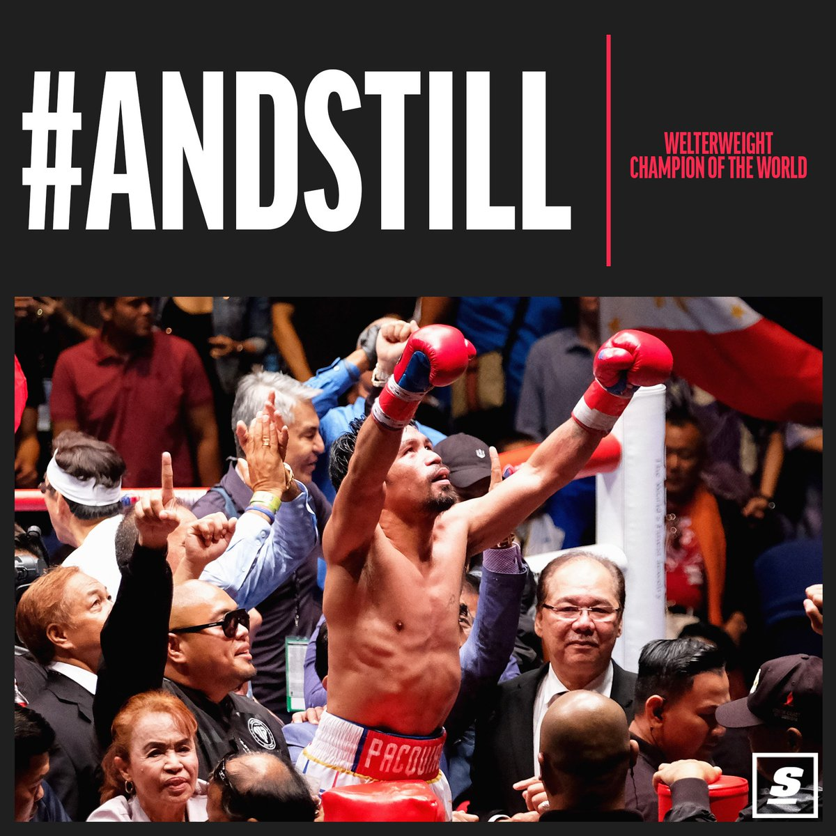 NEVER DOUBT @mannypacquiao!  DOMINANT. 💯 🇵🇭
