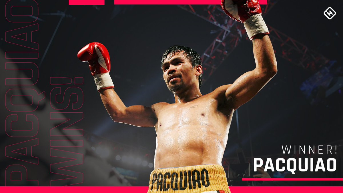 40 years old. Still got it.  Manny Pacquiao dominates Adrien Broner on his way to the unanimous decision!  #PacquaioBroner