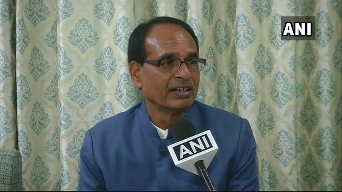 Former MP CM SS Chouhan: Congress used to talk of change but what change is this? Murders have started here, there was one in Indore, then in Mandsaur where a BJP leader was killed, another BJP leader killed in Barwani. Criminals are fearless today. Law&order completely collapsed