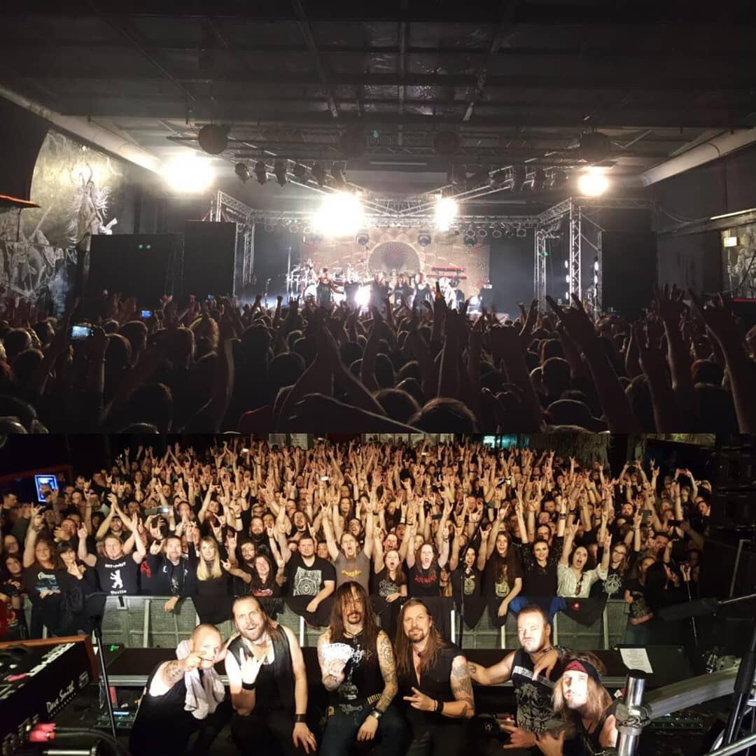 🇩🇪 Danke schön Leipzig! Hot and intense sold out show🤘#amorphis #queenoftimetour #queenoftimetour2019 #hellraiserleipzig https://t.co/XirFxyWI2g