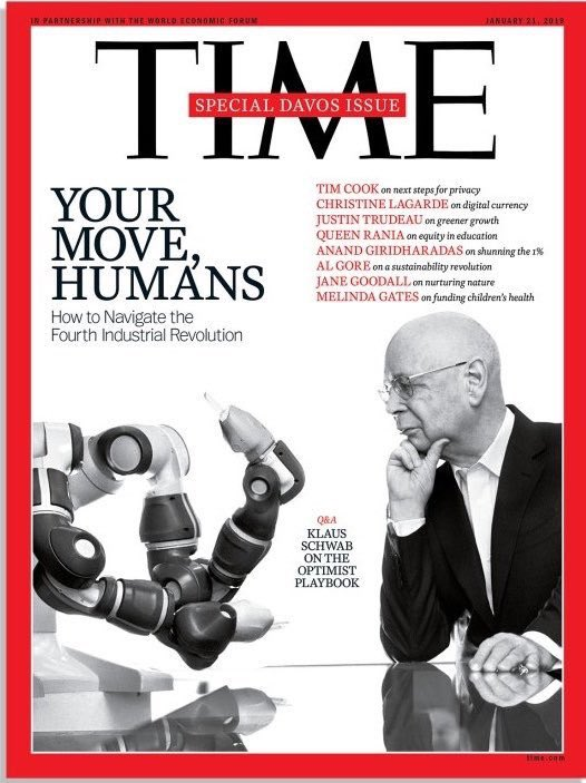 Your Move Humans! @wef opens the door on what is #globalization4 & how do we survive a much bigger AI, a declining ecology, plastic oceans, deepening inequality, & authoritian leaders. CEOs need to wake up now & realize they must shift from EPS to multi stakeholderism & fight.