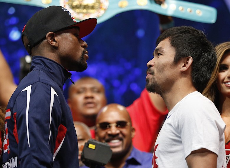Manny Pacquiao on Floyd Mayweather Jr.: 'Tell him to come back to the ring' https://t.co/MwFd2CQinW