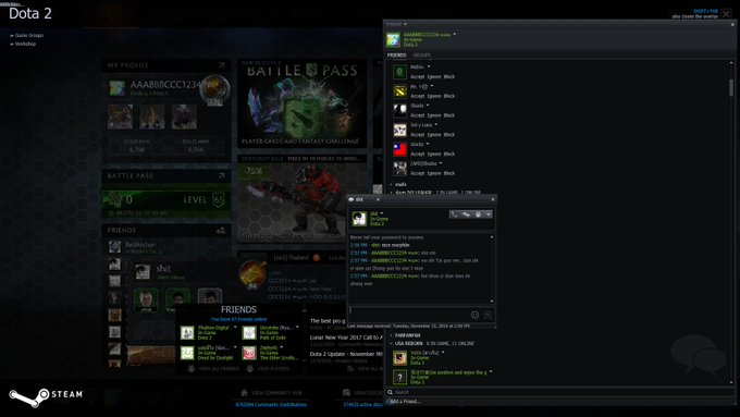 Just wanna share the great feeling when @ added me as a friend after we played a #dota2 Фото