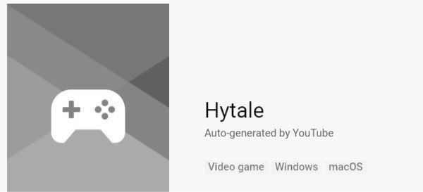 Hytale is now known as a game on YouTube! Getting closer to