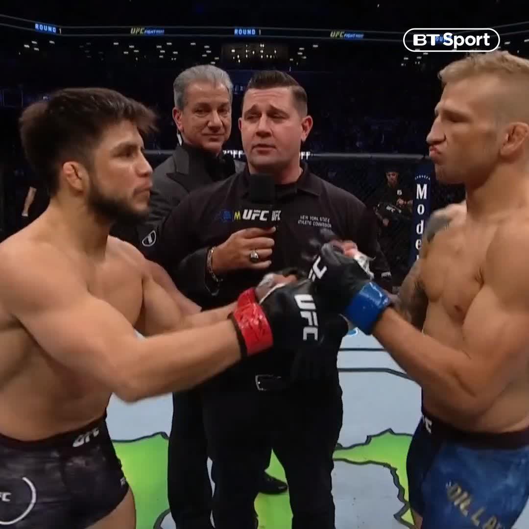 Watch 🏆 Cejudo vs Dillashaw 🏆 live on BT Sport's photo on henry
