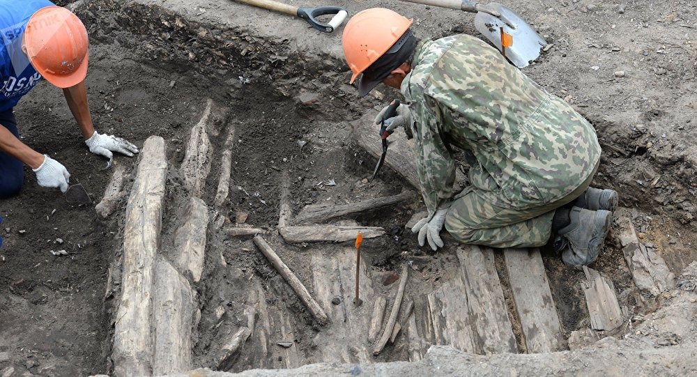 Eight WWII-era artillery shells discovered in #Moscow https://t.co/ePcDUCDRlf #WWII