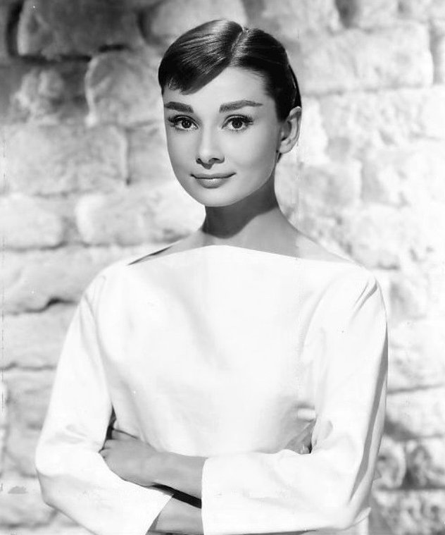 Audrey Hepburn died on this date January 20 in 1993. Photo by Bud Fraker.