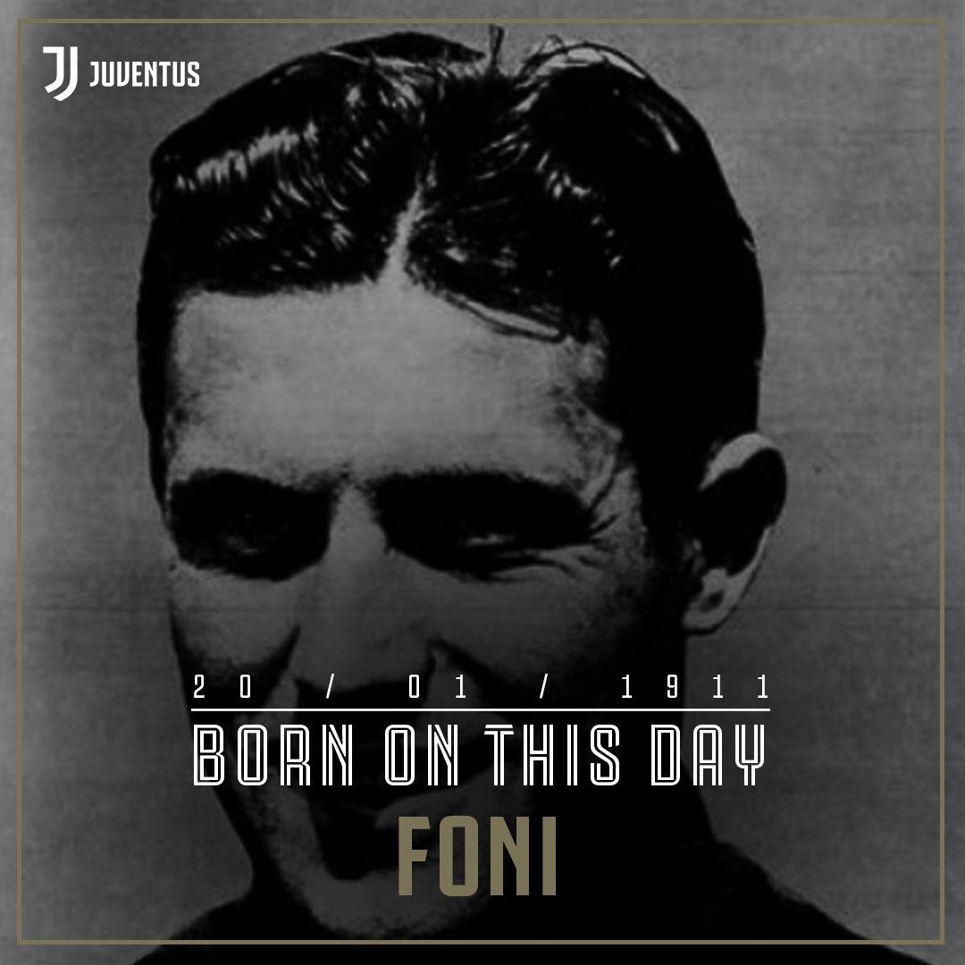 #BornOnThisDay en 1911 un grande del fútbol italiano y bianconero: Alfredo #Foni ⚫️⚪️