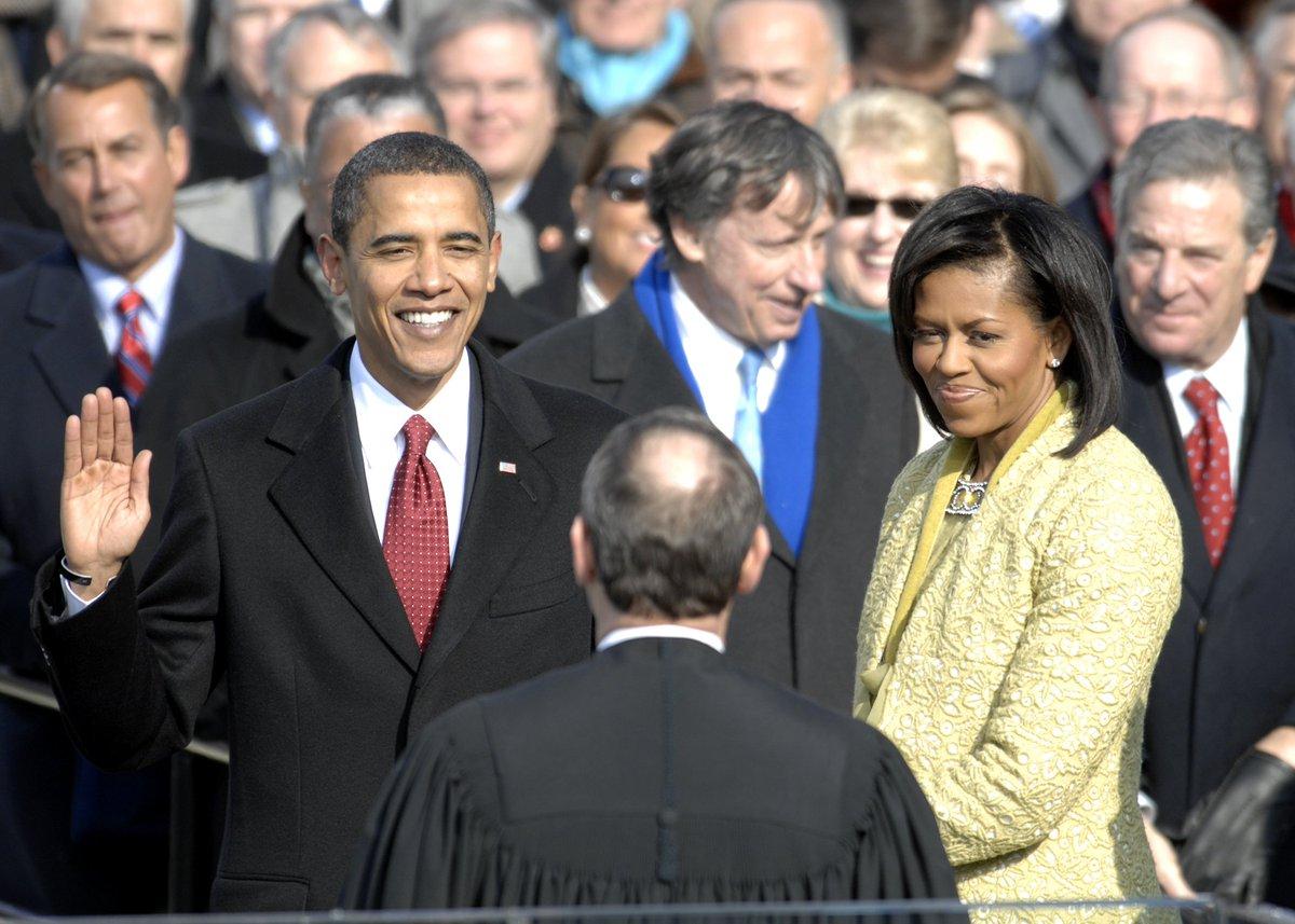 U.S. President @BarackObama's inaugural address on this date January 20 in 2009: https://youtu.be/-1ljmtaibC4