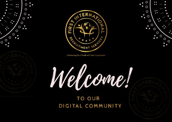 #twitter community welcome @1st_IRS First international recruitment services to the digital terrain....   We are new on twitter BT not in d businesses We are in #Nigeria #Cameroon #UAE #Ghana  #recruitment #dubai #agency #nigeria #kenya