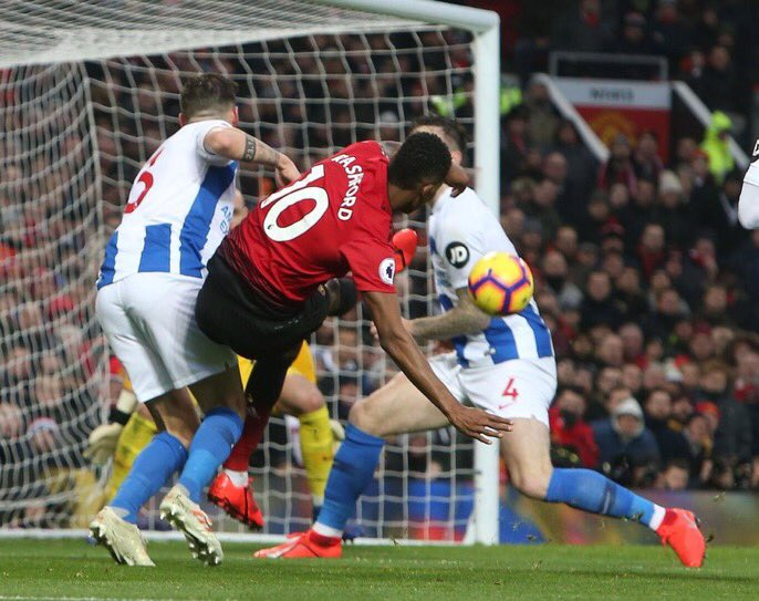 How am I supposed to tell my children that Rashford really put this in the top corner from this angle with that body shape?