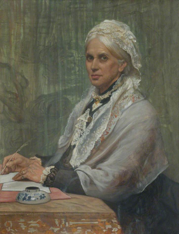 Anne Clough was born on this date January 20 in 1820. Picture: Portrait by William Blake Richmond.
