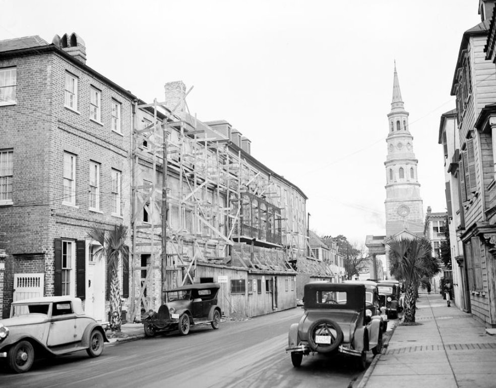 Charleston, South Carolina on this date January 20 in 1937. Photo credit: AP.