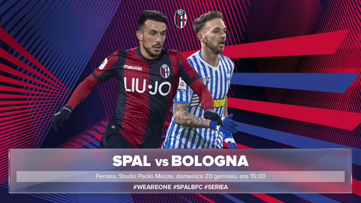 ⚡️ It's a big Matchday ⚡️  🏆 @SerieA  ⏰ 15:00 CET 🏟 Stadio Paolo Mazza 🆚 @spalferrara    #SPALBologna #WeAreOne 🔴🔵
