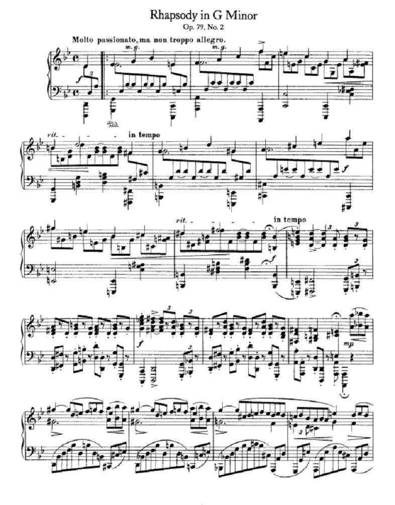 """nave على تويتر: """"1880年の今日1月20日、ブラームスの中期のピアノ曲を ..."""