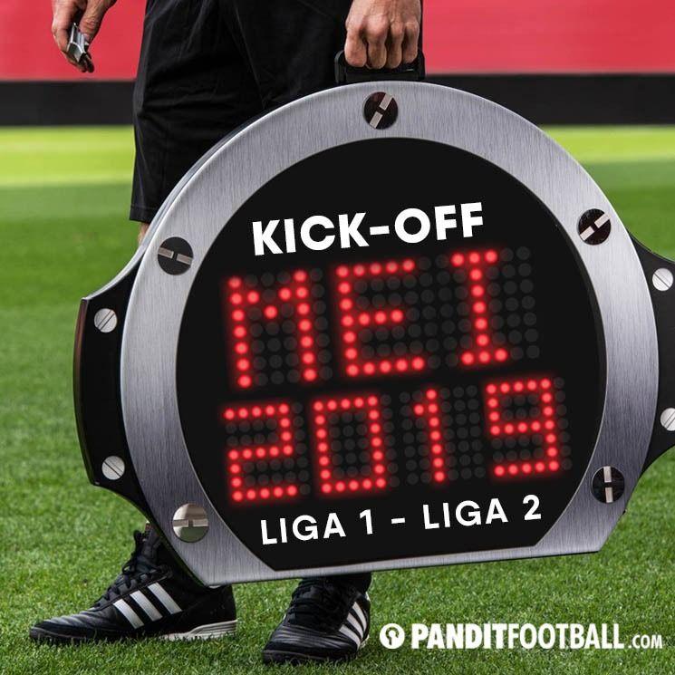 Plt Ketua Umum PSSI, Joko Driyono, mengatakan bahwa sepak mula Liga 1 akan dilakukan antara 1 - 9 Mei 2019. Liga 2 dimulai 2 minggu setelahnya.