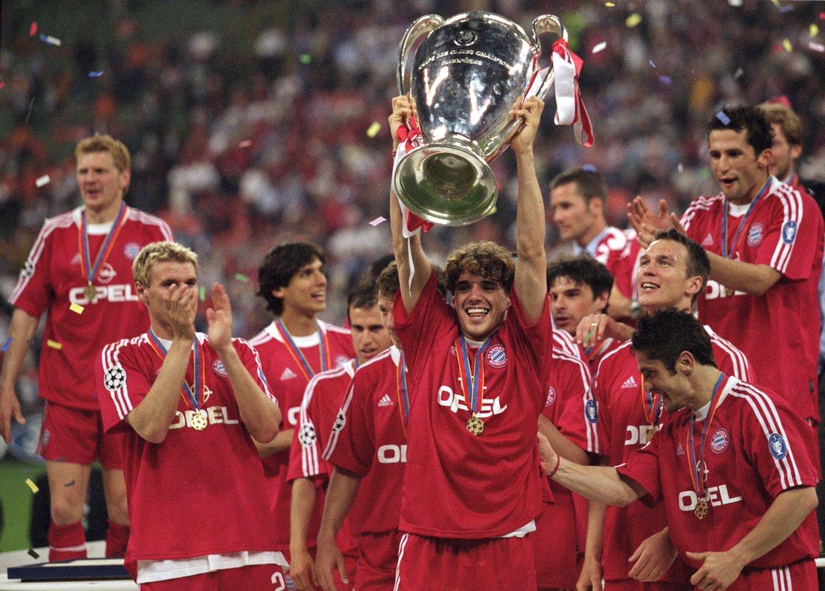 #UCL Champion 2001 @FCBayern & 2008 @ManUtd 🏆🏆  Happy Birthday, Owen Hargreaves 🎉🎂🎊🎈⚽️🏴