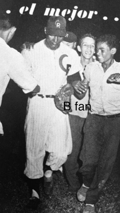 20/1/1958 Sola Morales- En el último día de la temporada, Juan Terín Pizarro se anotó su 9na blanqueada Caguas derrotó a Ponce 3 por 0. Ganó la triple corona en picheo con 14-5, ERA y en ponches con 183. Sus 9 blanqueadas fue un récord para la LBPRC, Sam Jones 8 en 1954-55 Foto