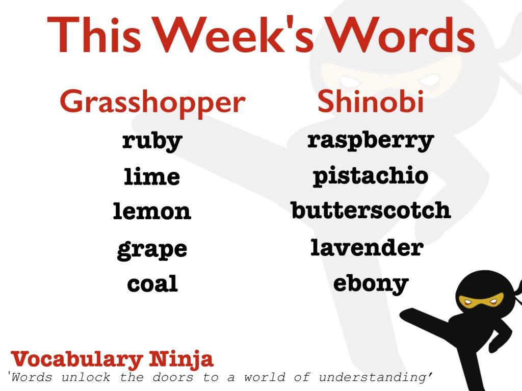 Vocabulary Ninja على تويتر: